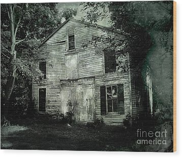 Forgotten Past Wood Print by Colleen Kammerer