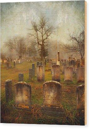 Wood Print featuring the photograph Forgotten Souls  by Karen Lynch