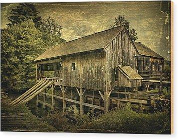 Forgotten Yesterdays Wood Print by Evelina Kremsdorf