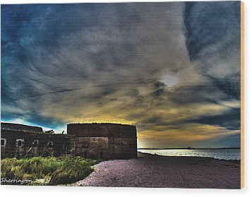 Fort Clinch Wood Print
