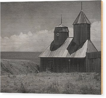Fort Ross Seashore Wood Print by Julie Magers Soulen