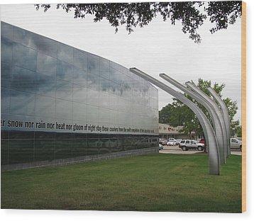 Fort Worth Tornado Art Wood Print by Shawn Hughes