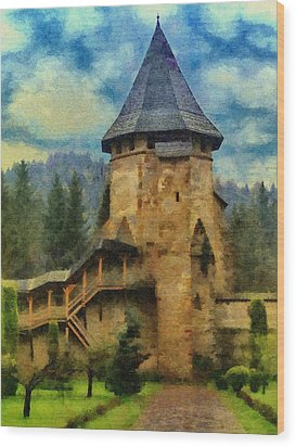 Fortified Faith Wood Print by Jeff Kolker