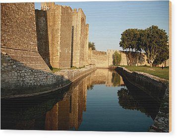 Fortress Wood Print by Frederic Vigne