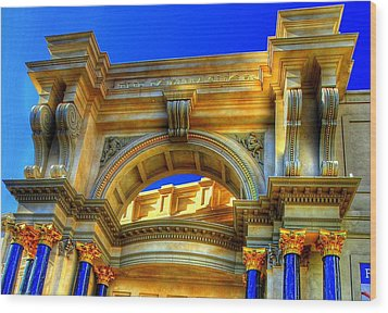 Forum Shops Arch Wood Print