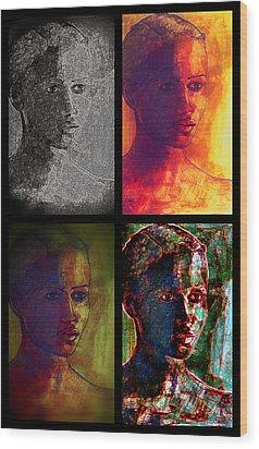 Four Seasons Wood Print by Diane montana Jansson