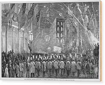 Fourth Of July, 1876 Wood Print by Granger