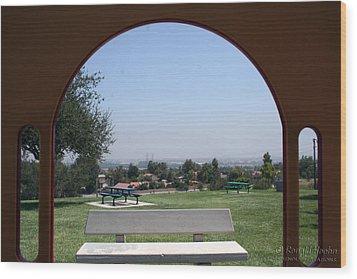Framed Vista Wood Print