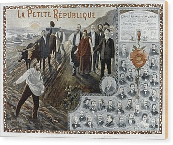 France: Socialism, 1900 Wood Print by Granger