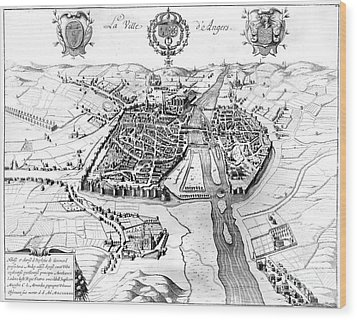 France: Walled City, 1688 Wood Print by Granger