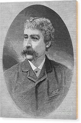 Francis Brett Harte Wood Print by Granger