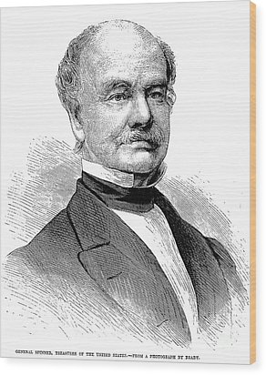 Francis Elias Spinner Wood Print by Granger