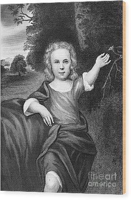 Francis Folger Franklin Wood Print by Granger