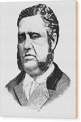 Francis Louis Cardozo (1836-1907) Wood Print by Granger