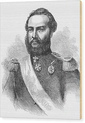 Francisco Solano Lopez Wood Print by Granger