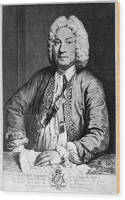 Francois Couperin (1668-1733). French Composer And Organist. Copper Engraving, 1725, By Joseph Flipart After A. Bouys Wood Print by Granger