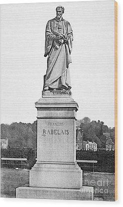 Francois Rabelais Wood Print by Granger