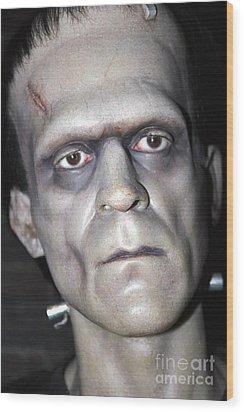 Frankensteins Monster Wood Print by Sophie Vigneault