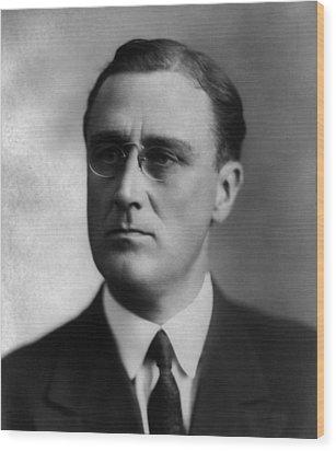 Franklin Delano Roosevelt Wood Print by International  Images