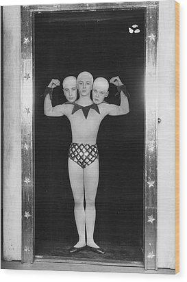 Freak Ballet Wood Print by Sasha