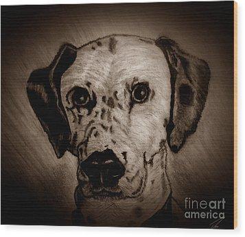Freckles Wood Print by Ayasha Loya