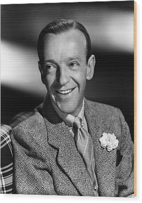 Fred Astaire, Ca. 1940s Wood Print by Everett