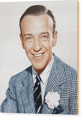 Fred Astaire, Ca. 1941 Wood Print by Everett