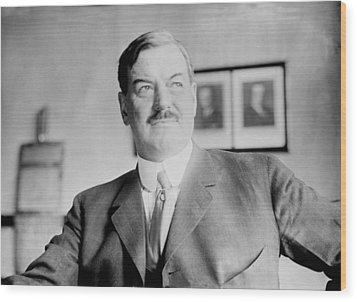 Fred. W. Upham Died 1923, 1923 Wood Print by Everett