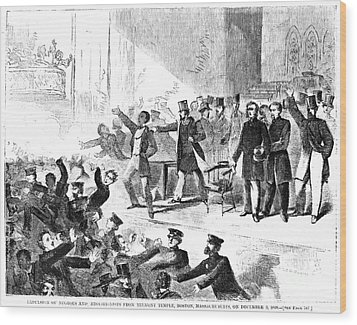 Frederick Douglass, 1860 Wood Print by Granger