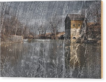 Wood Print featuring the photograph Fredonia Mill by Brian Duram