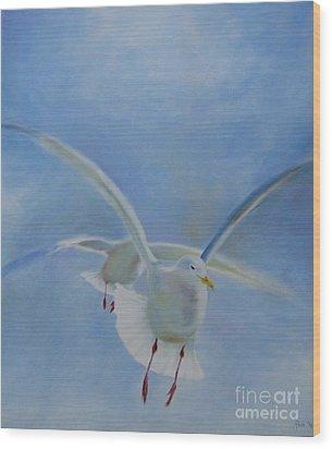 Freedom Wood Print by Annemeet Hasidi- van der Leij