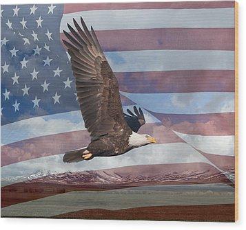Freedom Wood Print