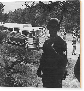 Freedom Riders, 1961 Wood Print by Granger