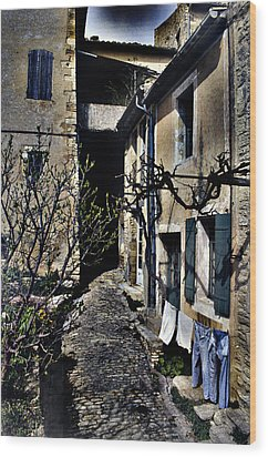 French Laundry Wood Print by Rob Outwater