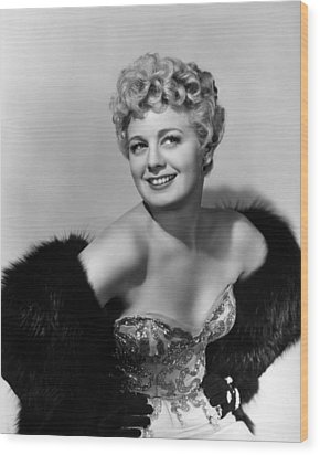 Frenchie, Shelley Winters, 1950 Wood Print by Everett