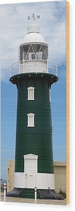 Wood Print featuring the photograph Freo Lighthouse by Roberto Gagliardi