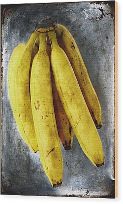 Fresh Bananas Wood Print by Skip Nall
