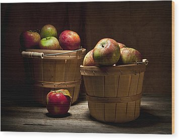 Fresh From The Orchard IIi Wood Print by Tom Mc Nemar