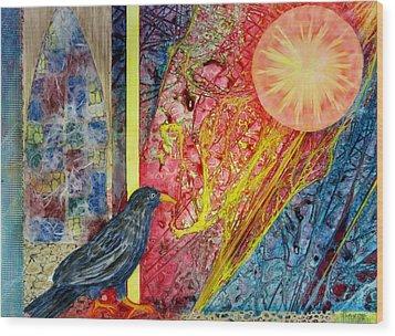 Friends --  In Abstencia Wood Print by David Raderstorf