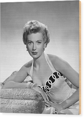 From Here To Eternity, Deborah Kerr Wood Print by Everett