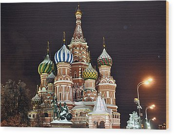 From Russia With Love Wood Print by Kevin Askew