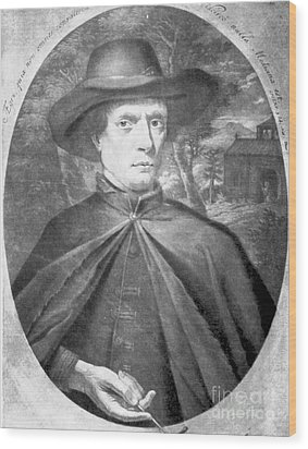 Fr�re Jacques Beaulieu, French Wood Print by Science Source