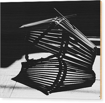 Fruit Basket Wood Print by Susan Capuano