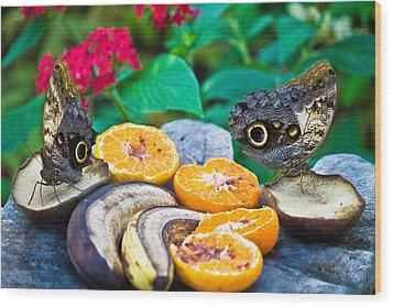 Fruit Of Life Wood Print