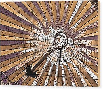 Fujisan In Berlin Wood Print by Juergen Weiss