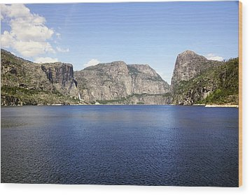 Full Hetch Hetchy Wood Print by Michael Courtney