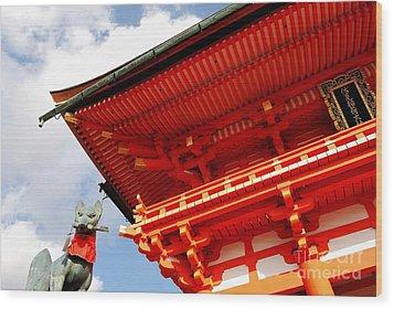 Fushimi Inari Shrine I Wood Print by Dean Harte