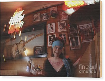 Wood Print featuring the photograph Future Fame by Sherry Davis