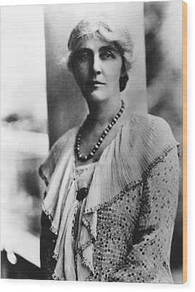 Future First Lady Lou Henry Hoover Wood Print by Everett