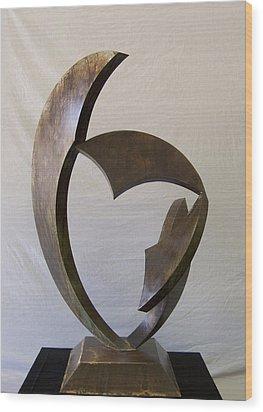 Gaea Wood Print by John Neumann